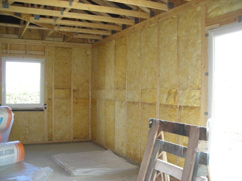 Maison passive bbc effinergie isolation laine de verre 120mm - Laine de bois ou laine de verre ...